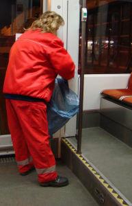 Bahnreinigung Müllx