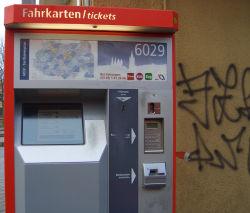 Fahrkartenautomatenx